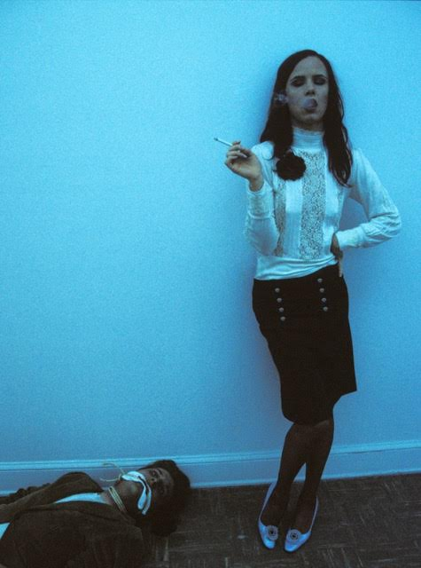 "Melanie Pullen Enjoy the Moment (Juliette Lewis Series), 2003 C-Print, Framed 32"" (H) x 23.7"" (W)"