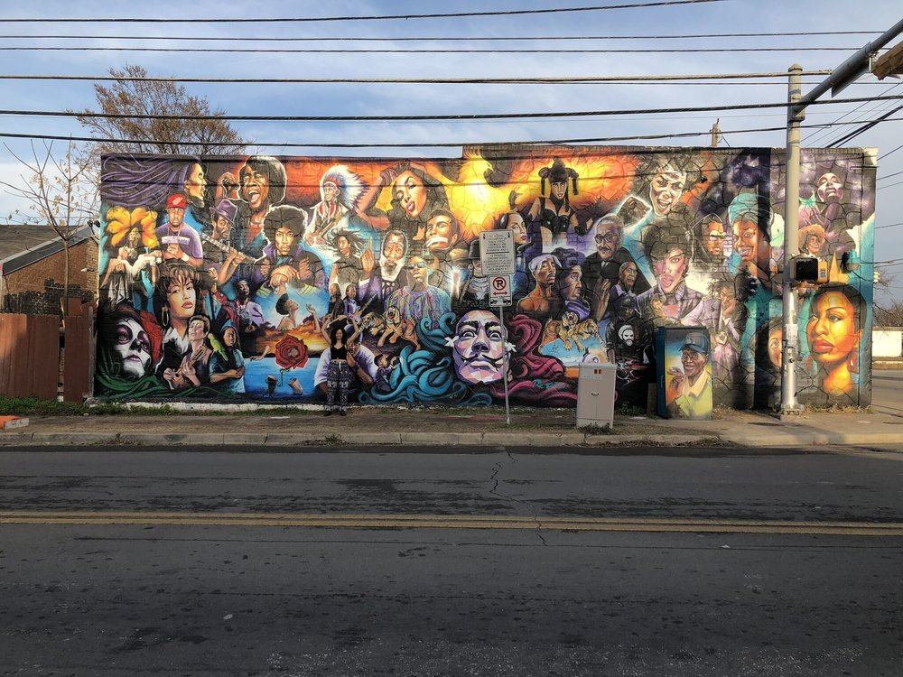 Venson was featured in a mural in East Austin, Texas, honoring Black History Month