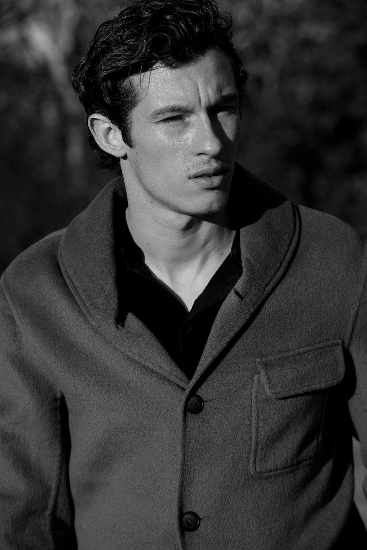 GIORGIO ARMANI     jacket and shirt.