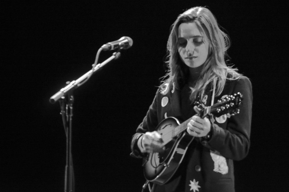 Julien Baker of boygenius at The Wiltern on Nov. 30. Photo by AnnMarie Barenchi.
