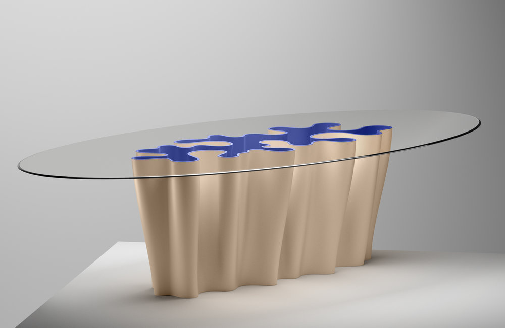 Anemona Table by  Atelier Biagetti