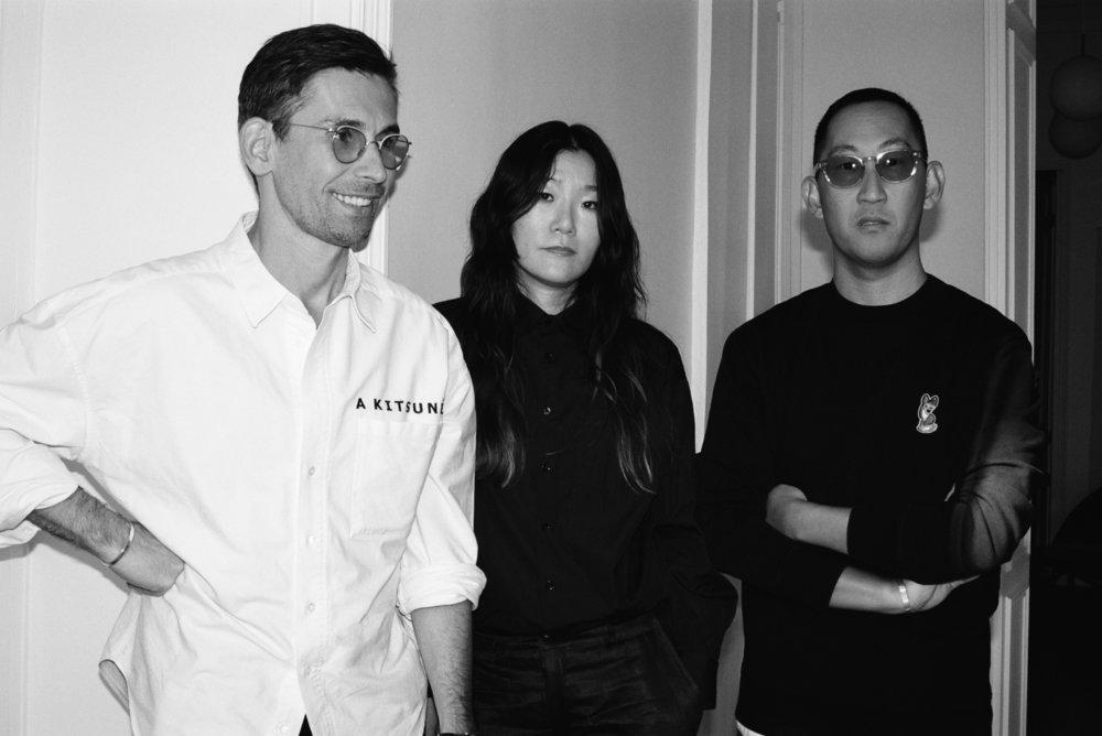 Gildas Loaec, Masaya Kuroki and Yuni Ahn.