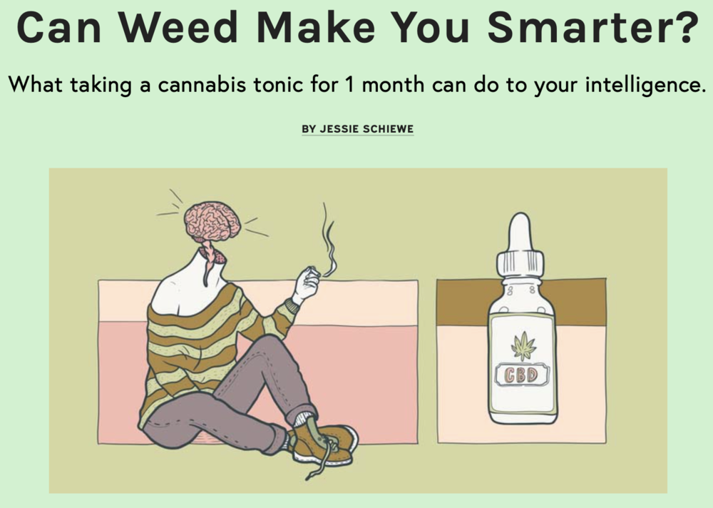 Can Weed Make You Smarter?