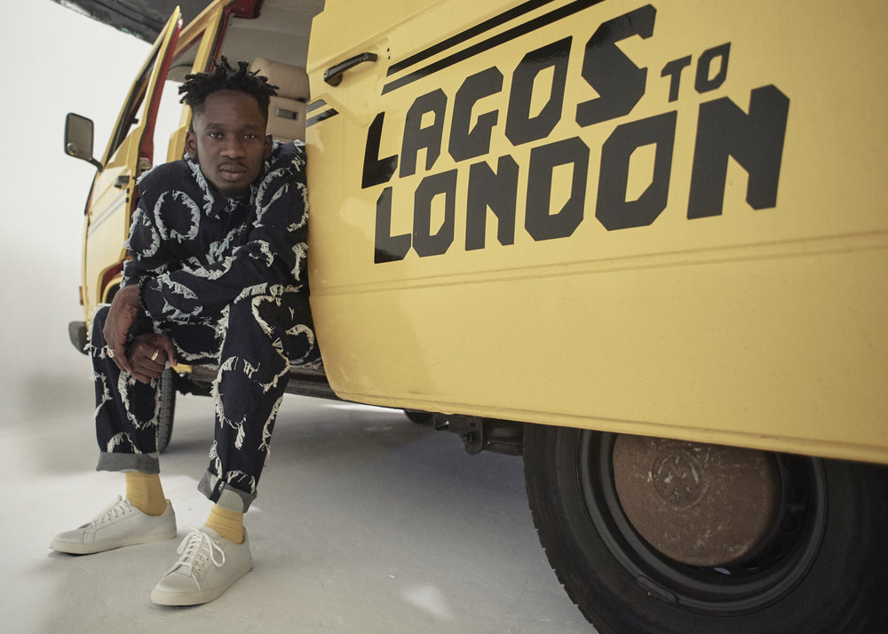 Mr Eazi,  Lagos to London