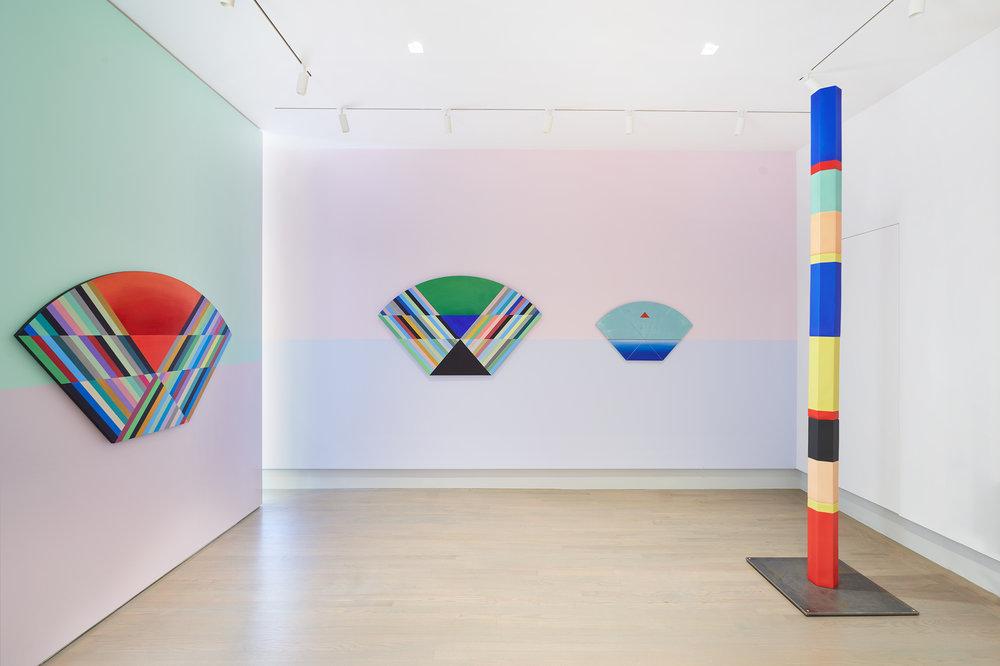 Installation view of Anton Ginzburg: VIEWs