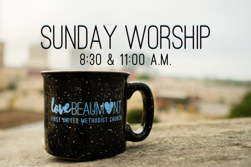 Come worship with us in Downtown Beaumont!