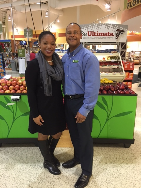 Lauren with Publix Manager.JPG