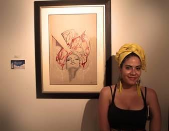 Artist Ivette Cabrera