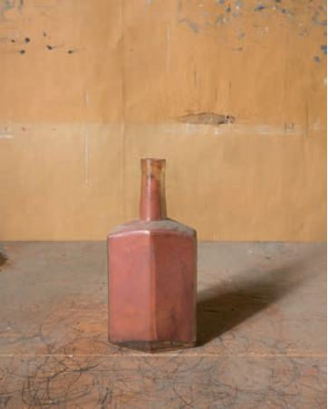 Title: Rust Bottle, from Morandi's Objects, 2015 Credit: Courtesy and Copyright of Joel Meyerowitz