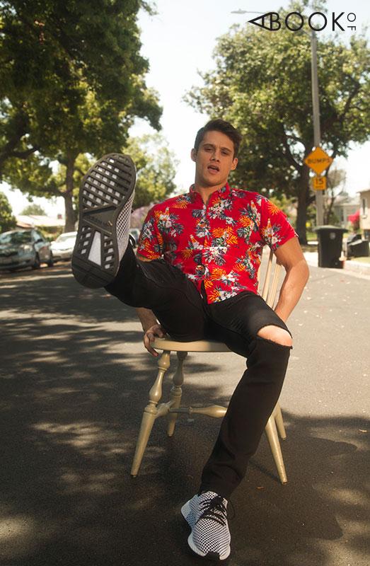 Shirt: Soulstar Jeans: Slate Denim Shoes: Adidas