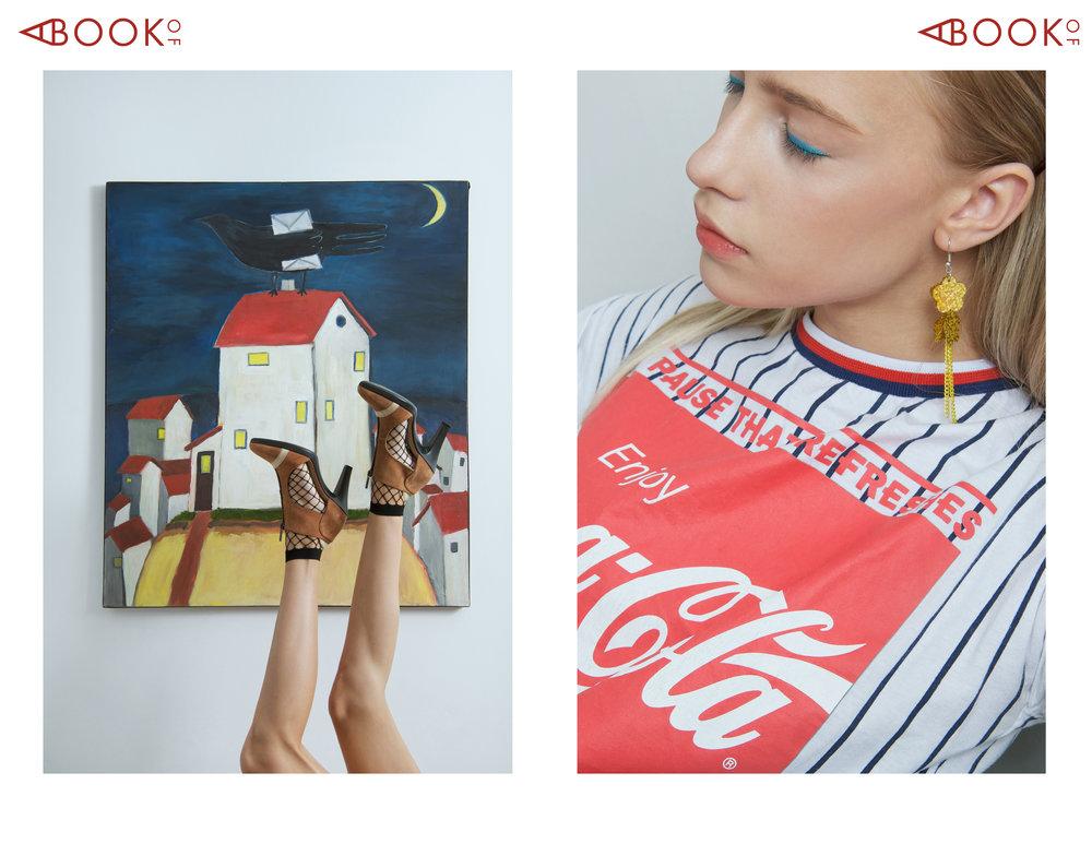 Shoes: Stivali, T-Shirt: Coca-Cola