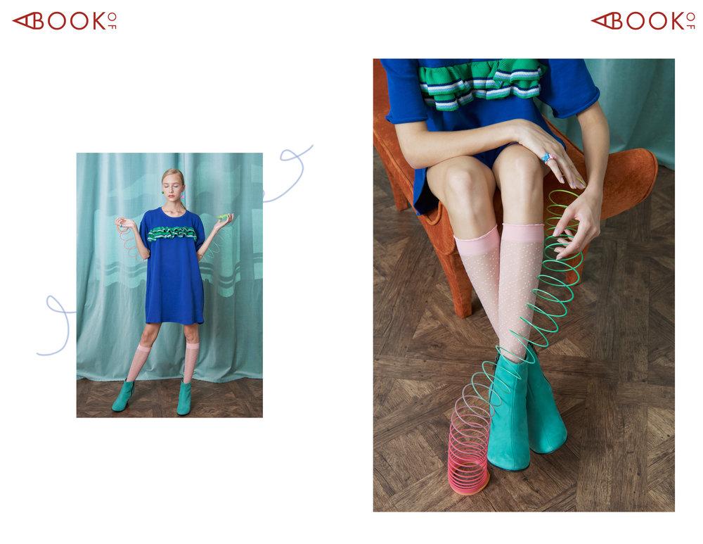 Dress: Zara, Shoes: Stivali