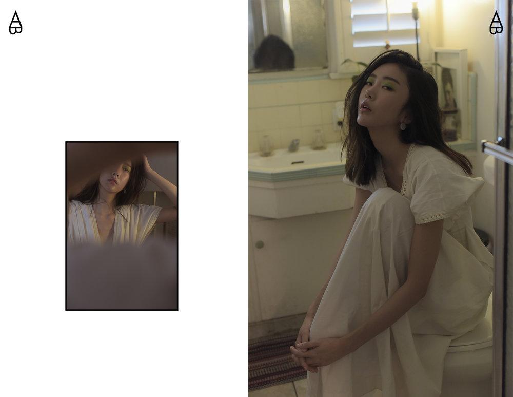 Dress:  Lam Gia Khang   Earring:  COS
