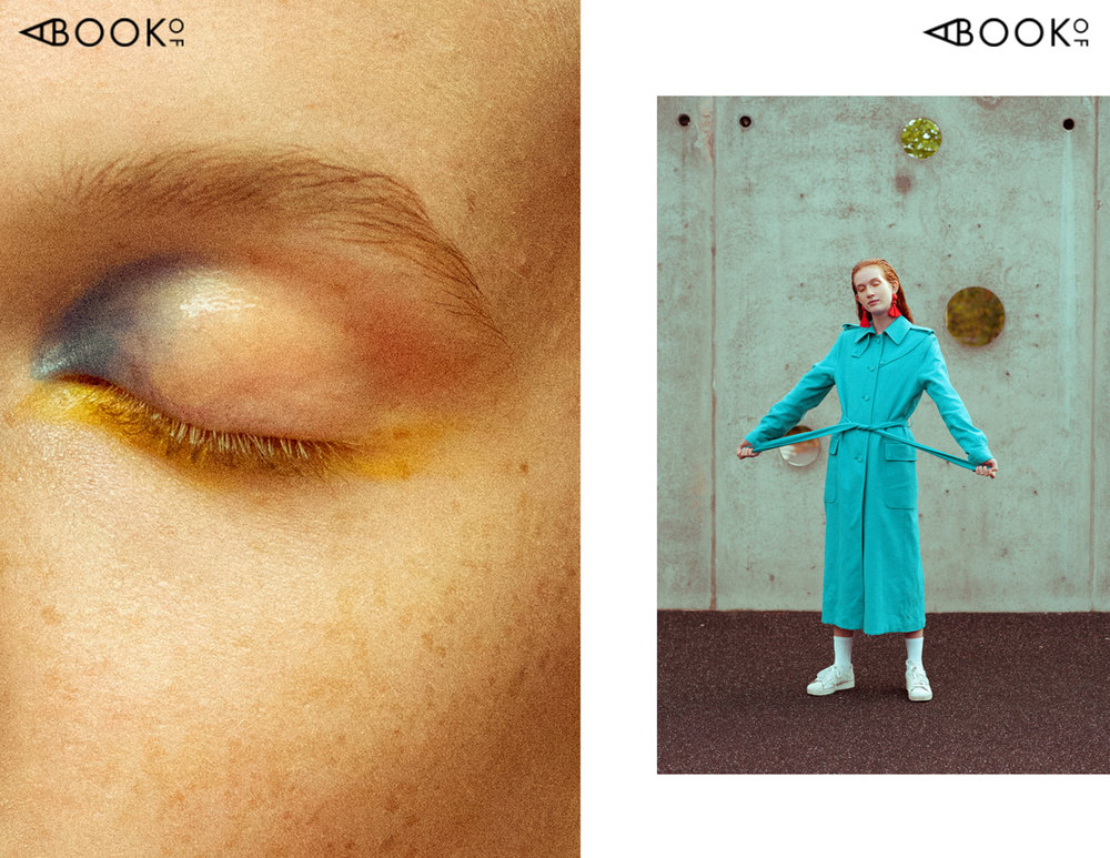 Left: coat WHYRED | earrings H&M | socks MENTAL STUDIO | shoes ADIDAS
