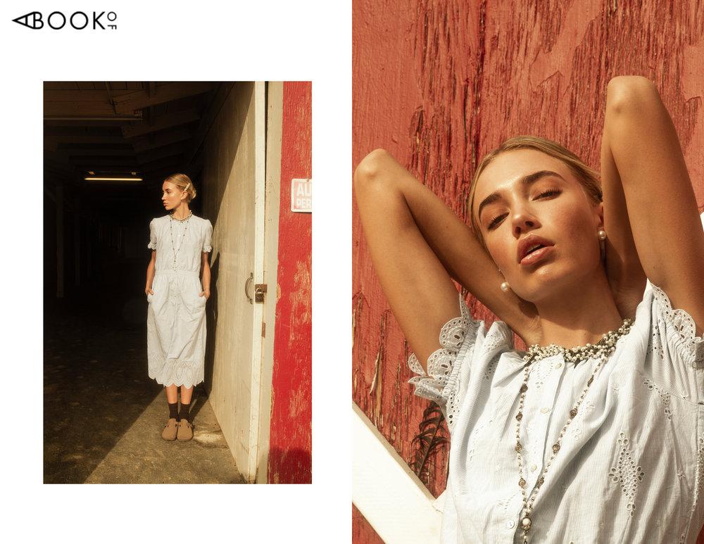 Dress: Joie, Shoes: Birkenstock