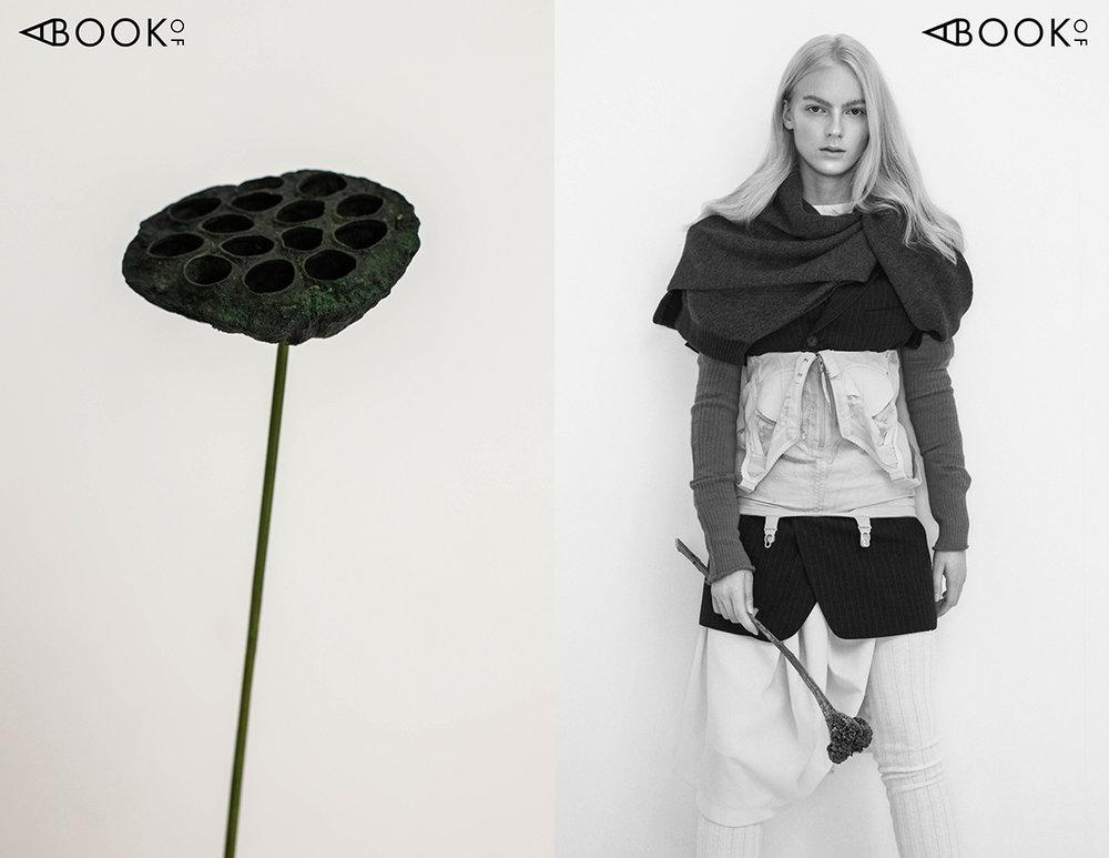 Jacket - Urte Katiliute design, Dress - Urte Katiliute design, Blouse - Kotryna Lipkeviciute, Trousers - Urte Vosyliute