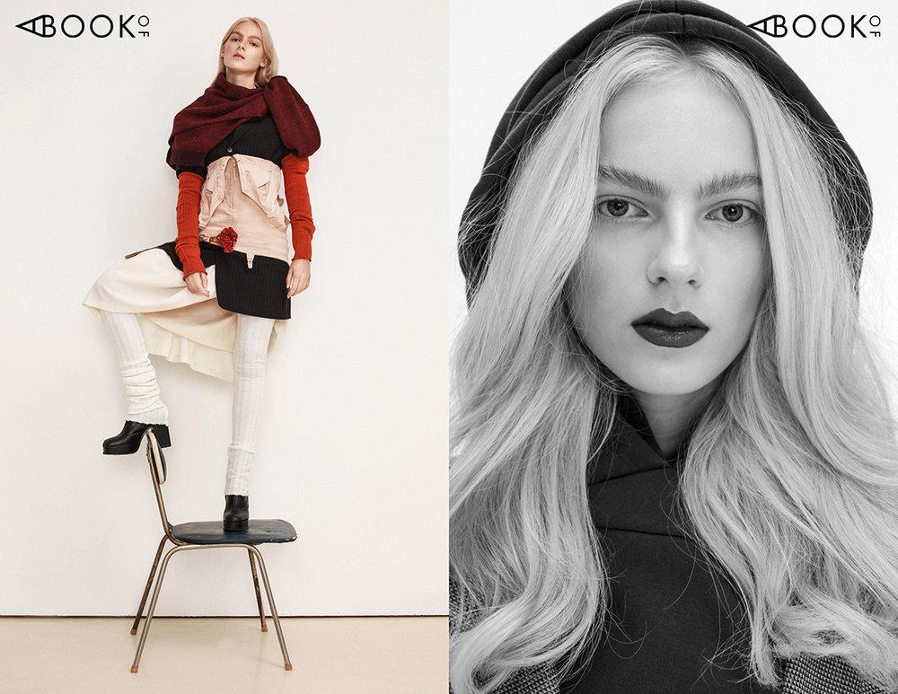 Left:  Jacket - Urte Katiliute design, Dress - Urte Katiliute design, Blouse - Kotryna Lipkeviciute, Trousers - Urte Vosyliute, Shoes - COS   Right:  Jacket - Urte Katiliute design, Dress - Kotryna Lipkeviciute