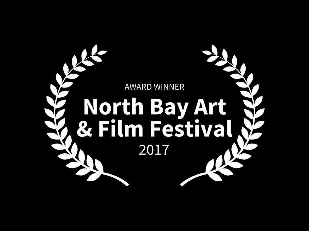 AWARD WINNER - North Bay Art  Film Festival - 2017.jpg