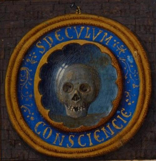 Fig. 10 Gerard Horenbout,  Speculum Conscientiae  (detail), c. 1500 .