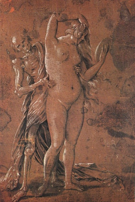 Fig. 12 Hans Baldung Grien,  Death and the Maiden , c.1515