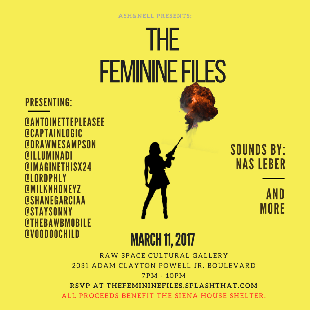 The Feminine Files. 3.11.17.