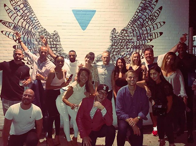 Last night was magical✨all of the amazing talent and company at dinner couldn't be possible without @justinpremierpr Incredible food by @gioantico! Bellies full thanks to @myblu💙 Welcome to Atlanta, wish you all the success you deserve! #entrepreneurs #atlanta #liveyourbestlife