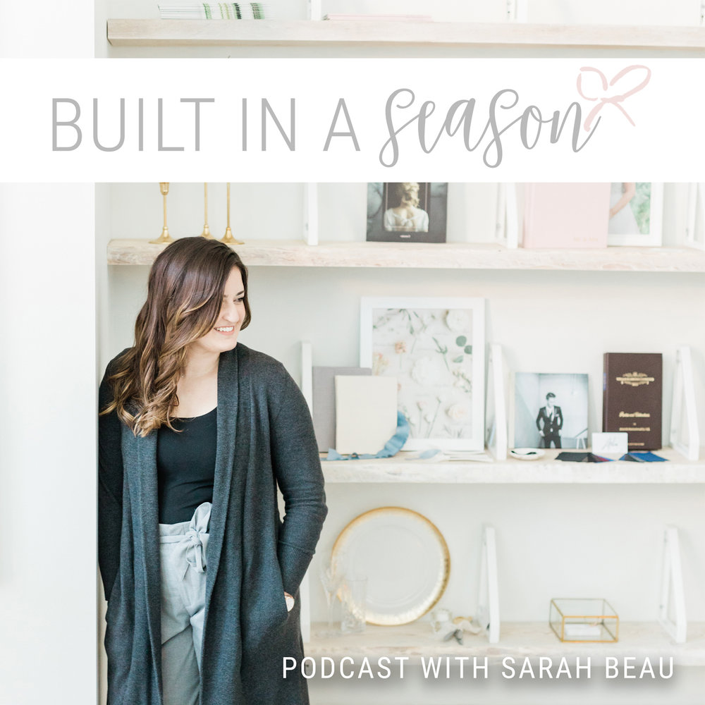 Find us on iTunes! - Built In A Season is for those of you who are struggling to do it all, running out of hustle and barely keeping your head above water. This podcast is about focusing in on one task and doing it well before moving onto the next.