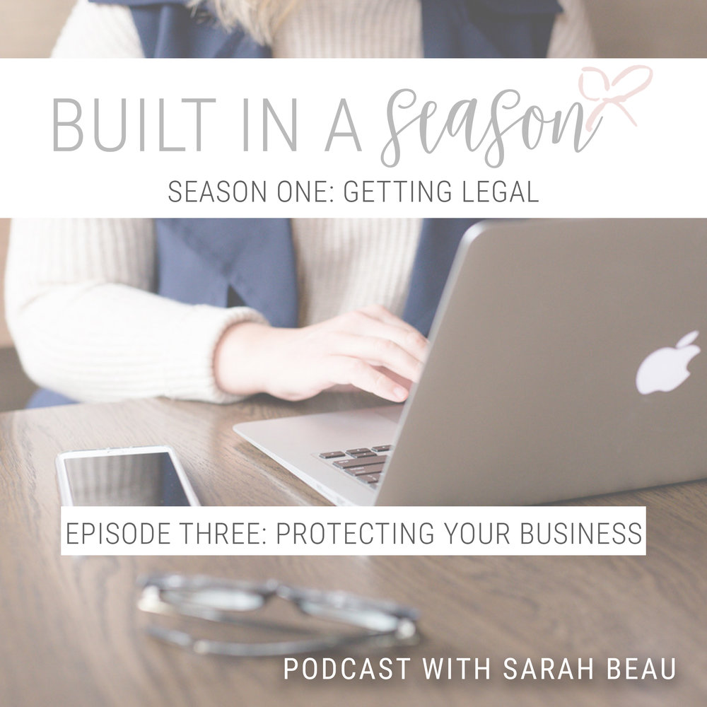 Protecting Your Business Podcast Sarah Beau Photography