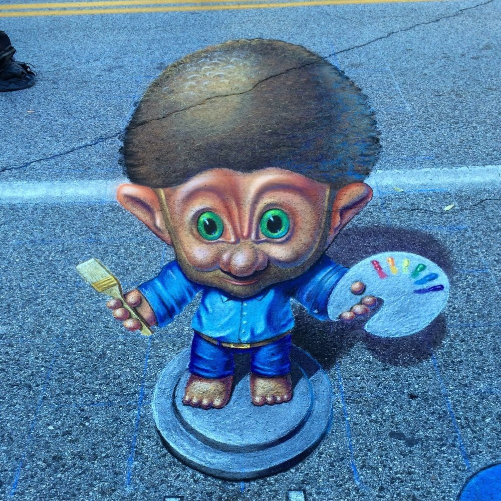 Bob-Ross-Troll-Doll-chalk-art.jpg