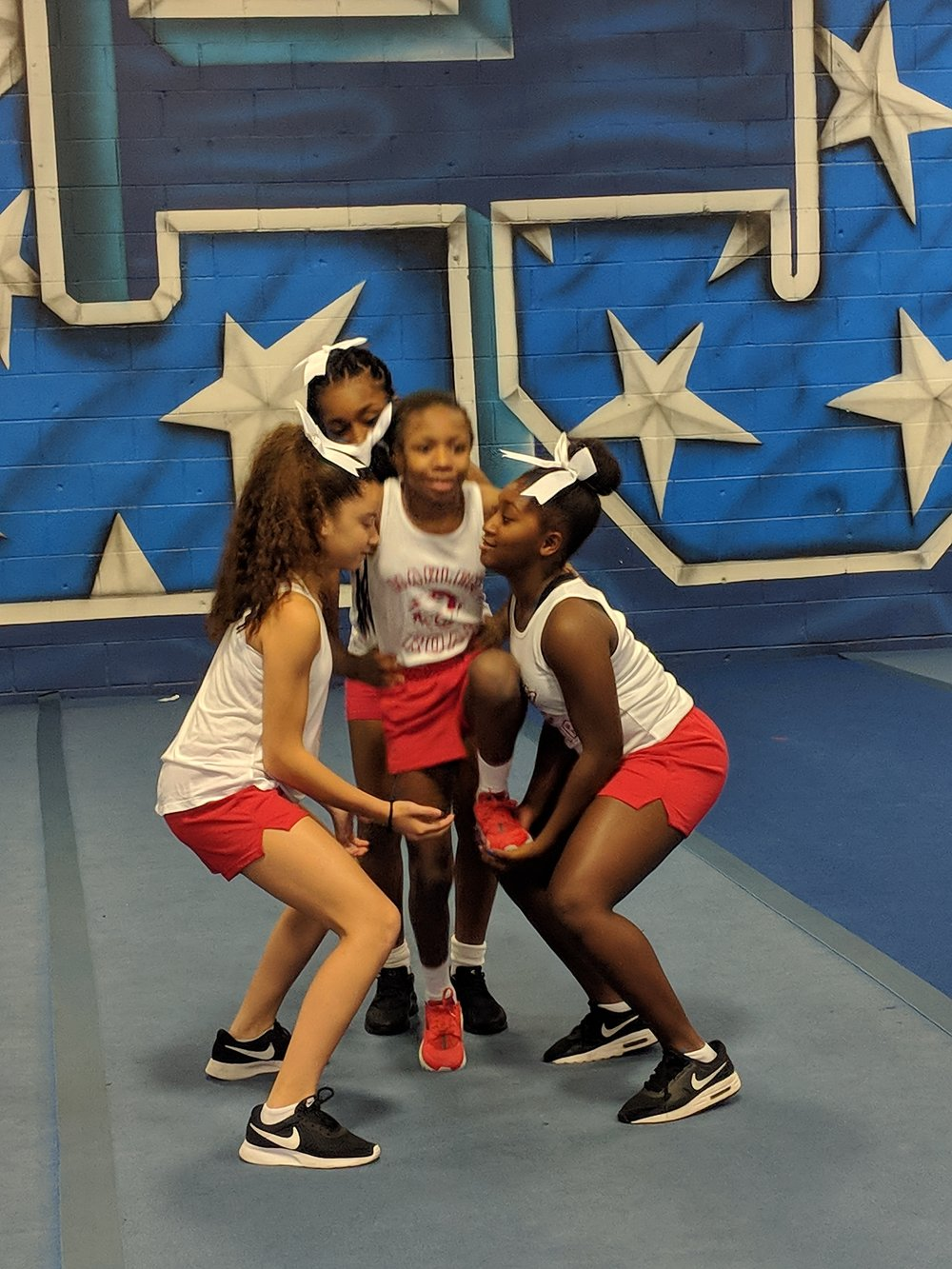 "- ""Girls in our community are motivated and ambitious, but there are gaps in access to the type of resources and opportunities that will equip them with the necessary skills to achieve success.""— Charlotte Reid, Harlem Girls Cheer Cofounder"