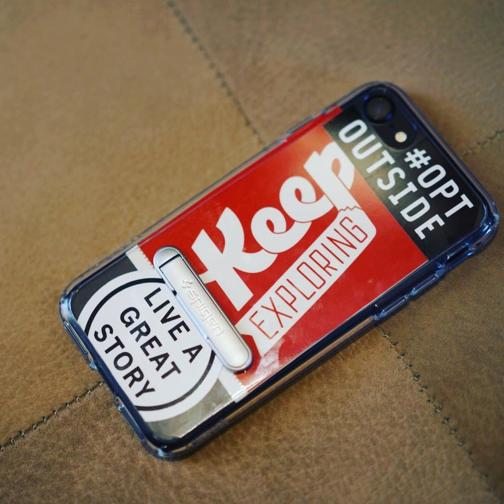 @leo_duque found a perfect way to take our stickers anywhere, the phone case is a fun idea!