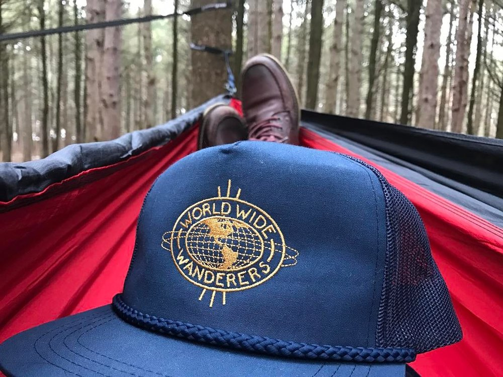 The perfect addition to a hammock hang for @jonathon_benedict in Provin Trails Park
