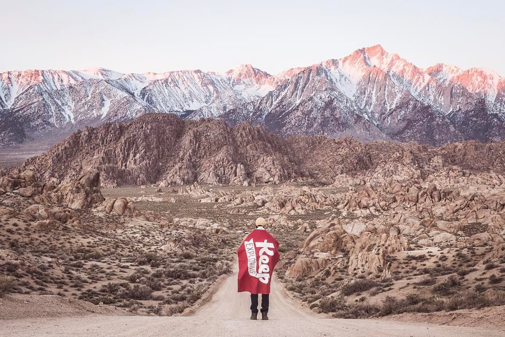 @morgylove and @travisvisuals explored Alabama Hills for the first time -- always a great idea to explore your backyard!