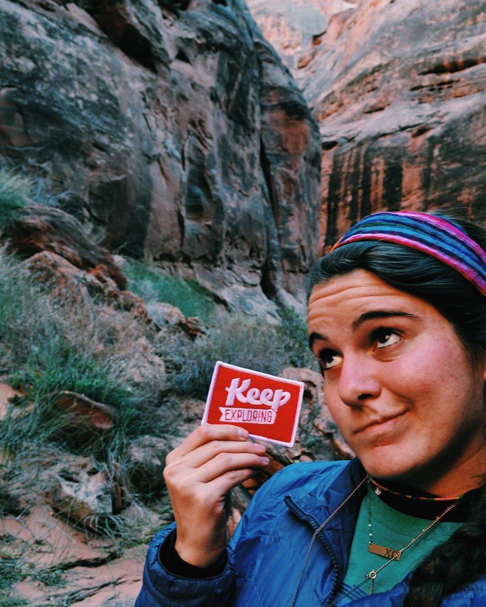 "@elizabethaandress kept exploring Paria, Utah and ""10/10 recommends"""