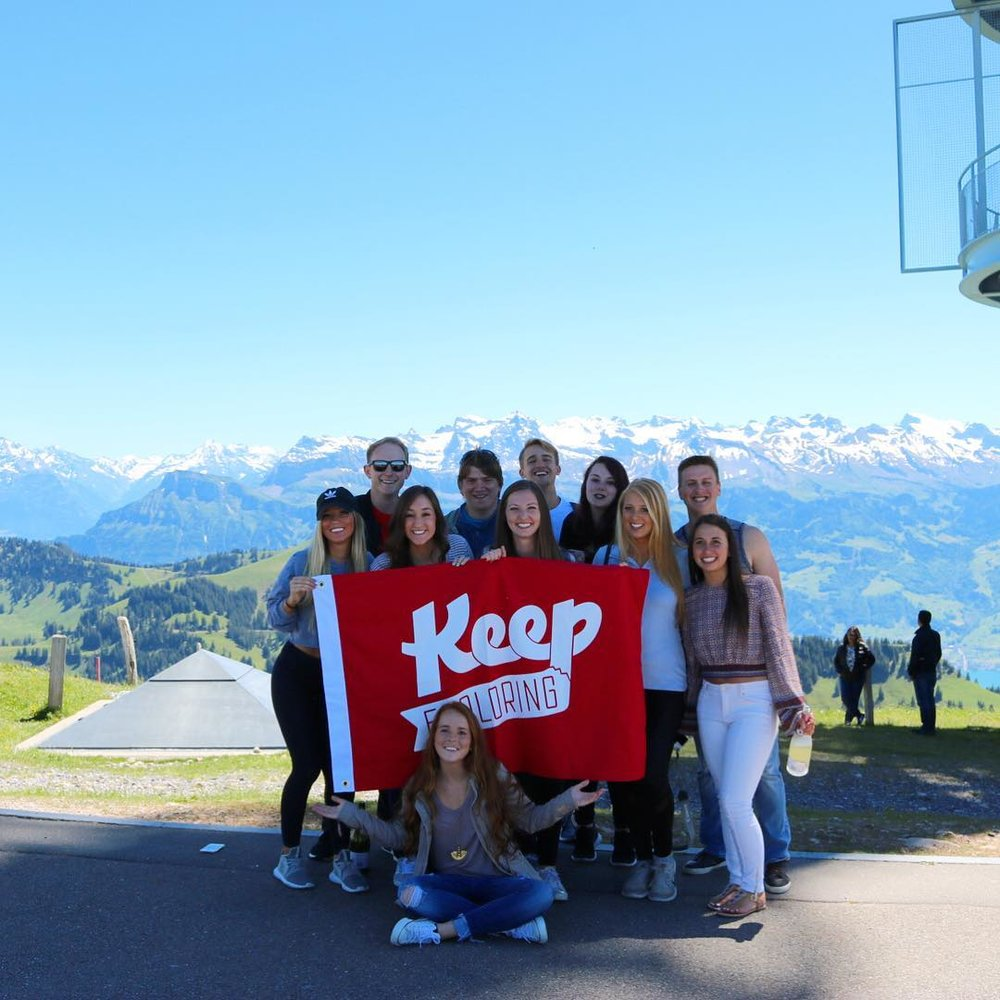 What's better than exploring Switzerland? Doing it with your pals -- @juliapalmisano recommends
