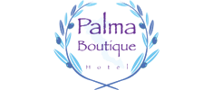 Corfu Palma Boutique Hotel - Α small fine hotel situated in the beautiful summer resort town of Dassia, only 100 meters away from a sandy and shallow beach with crystal blue waters, safe for children, and ideal for swimming and water sports.