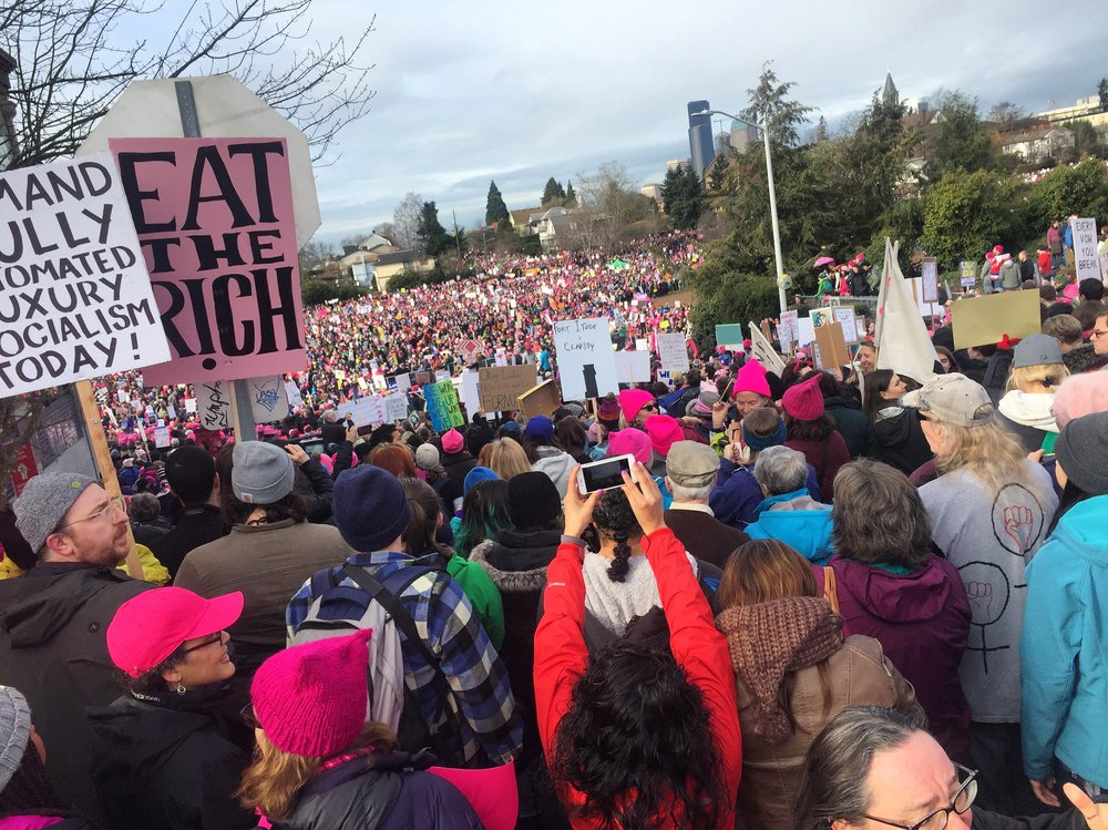 THE SEATTLE WOMXN'S MARCH