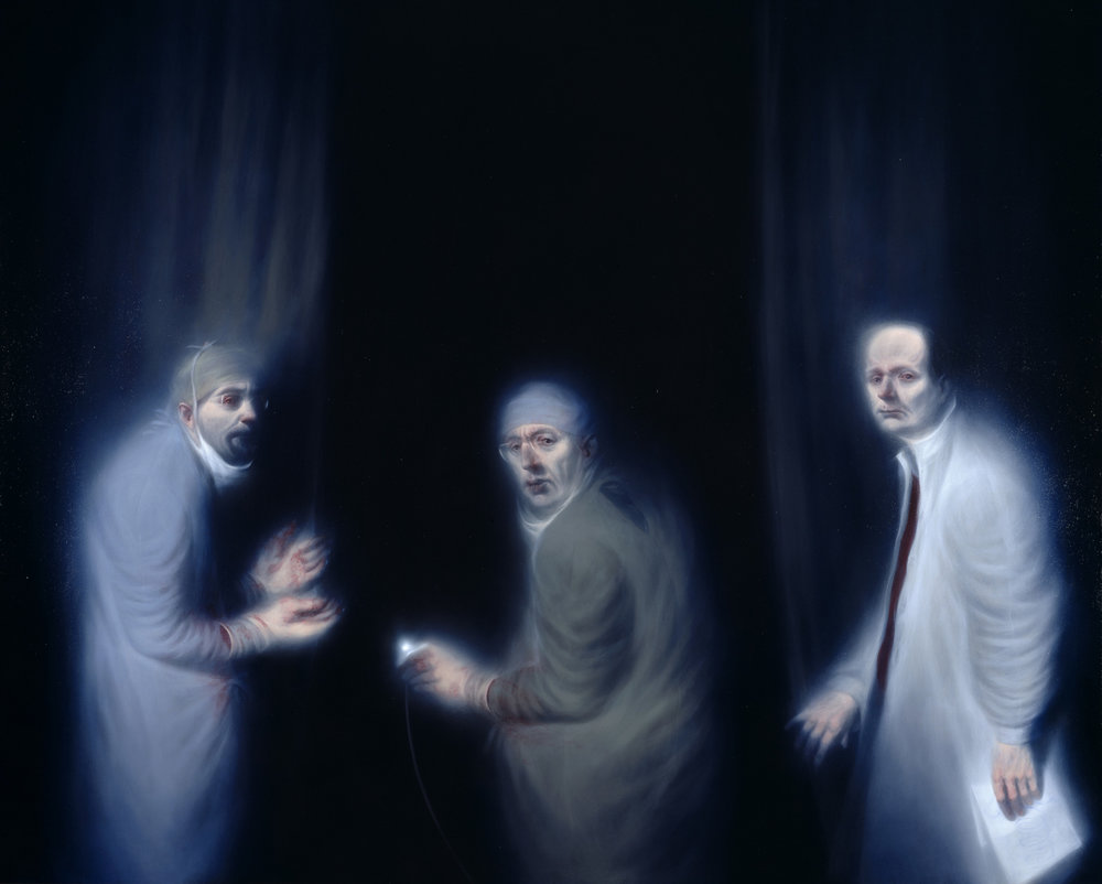 THREE ONCOLOGISTS,  Ken Currie