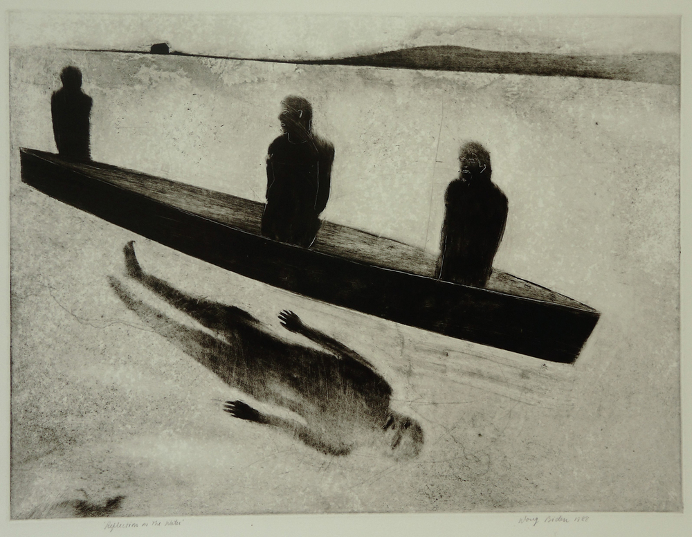 Reflection on the Water, 1988