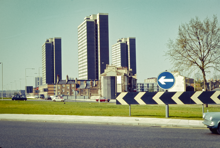 Shepherd's Bush Roundabout - London 1971