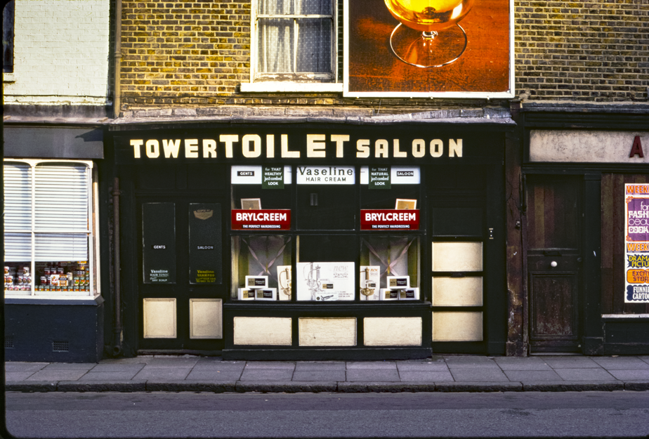 Greenwich Toilet Saloon, London 1971