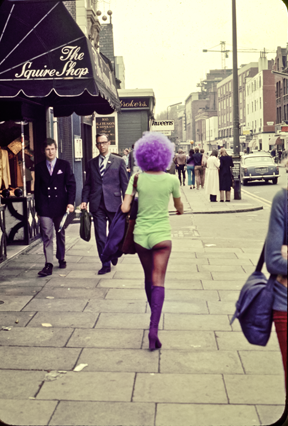 Chelsea Girls Kings Road, London 1971
