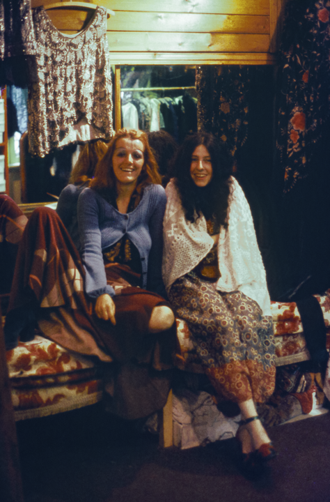 Kensington Market Girls, London 1971