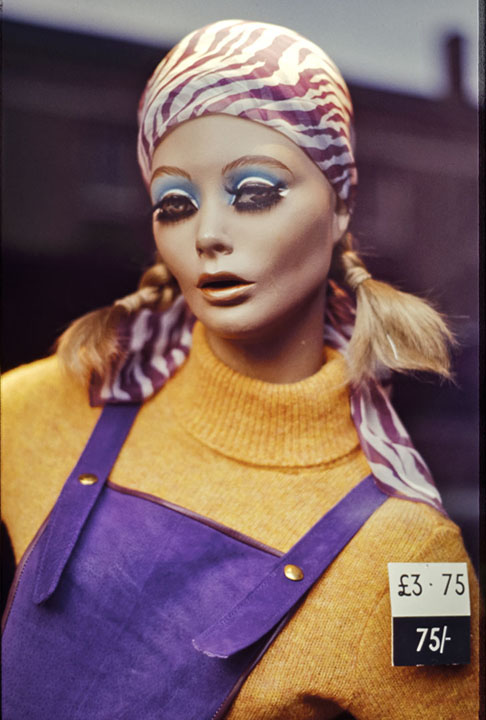 Kings Road Mannequin, London 1970