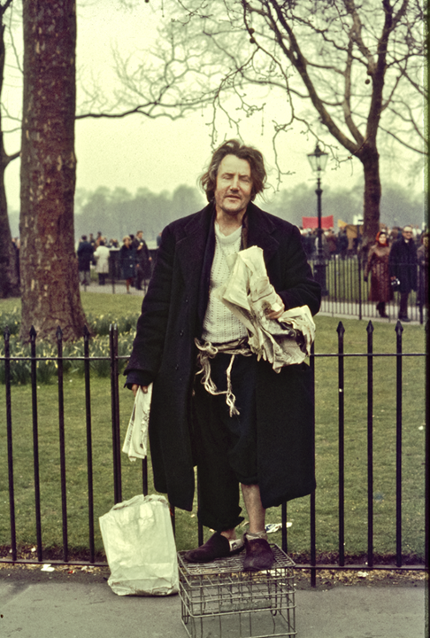 Old David Hyde Park Corner, London 1971
