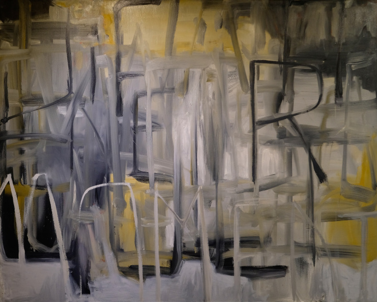 Momentary Jubilation 48 X 60″ oil on canvas $2200