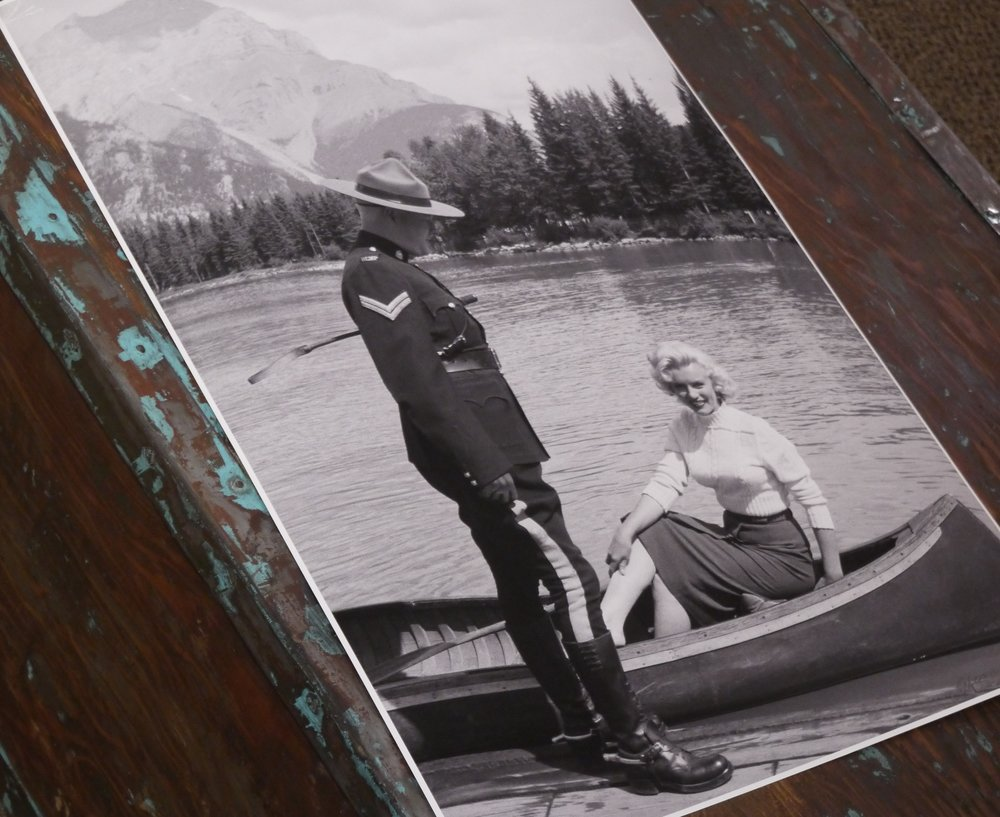 Marilyn Monroe - Glenn Lewis, suite of six limited edition photographs, Banff, Alberta 1953