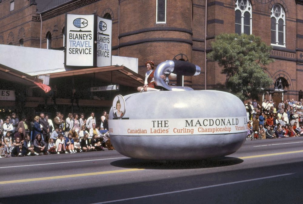 Curling Float – Victoria Day Parade