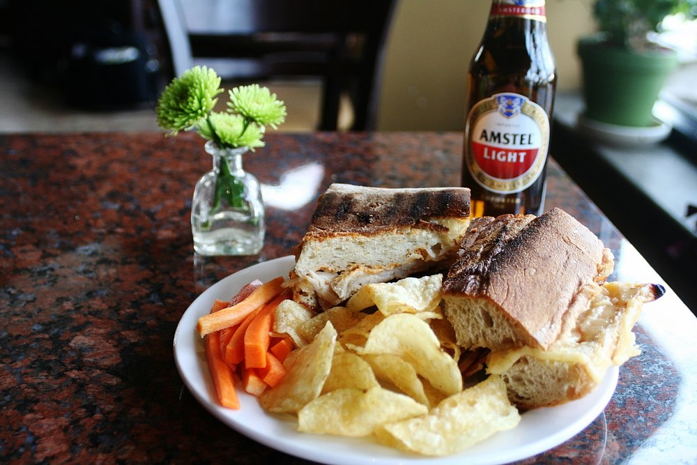 Sandwich and Beer