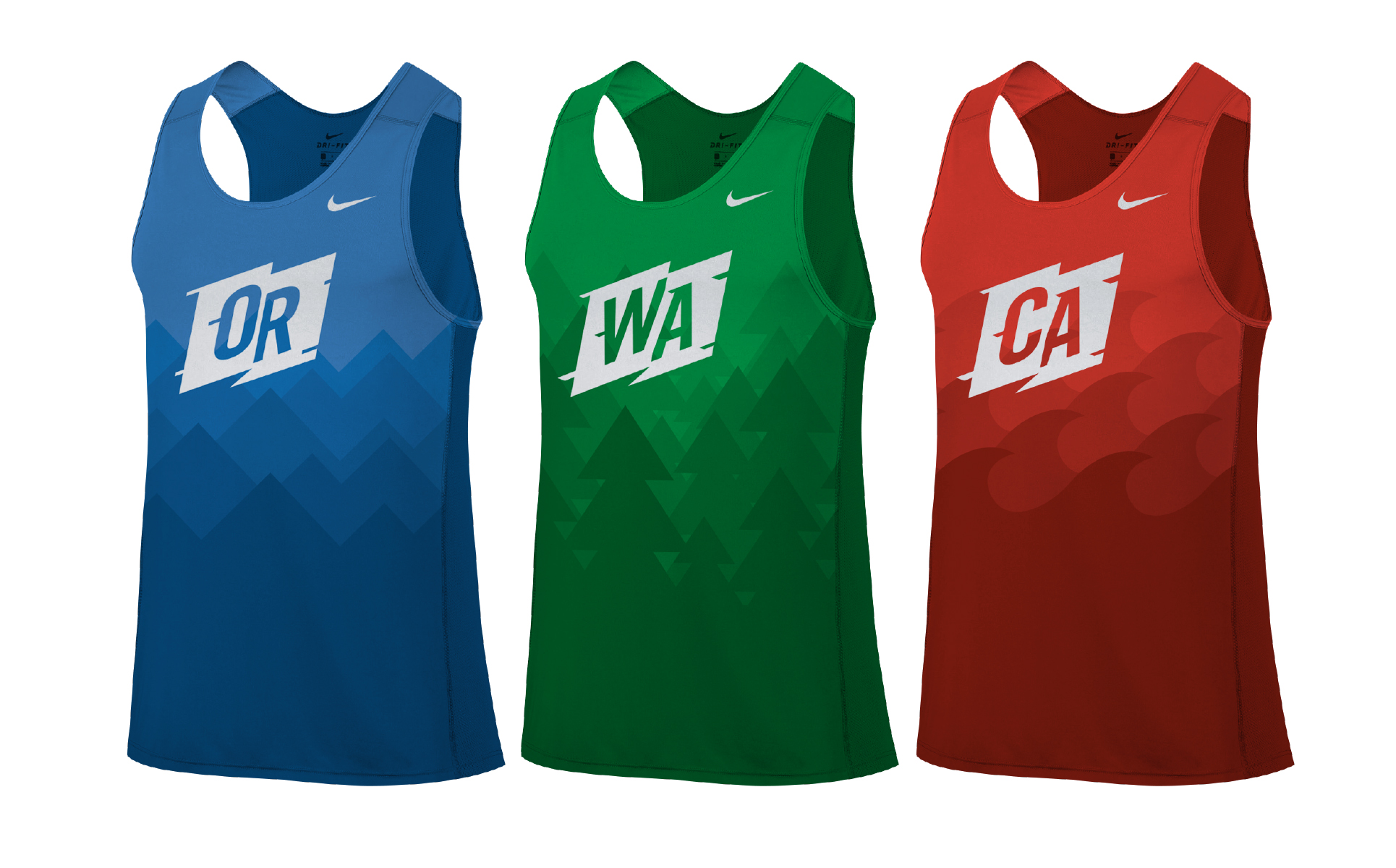 28888aee8 Uniform design for the BorderClash high school cross country running event.